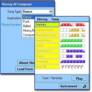 Heresy AI Composer SE