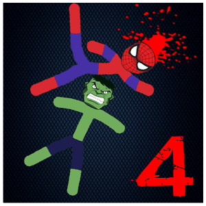 Stickman Warriors 4 Onling Mode Epic Fight