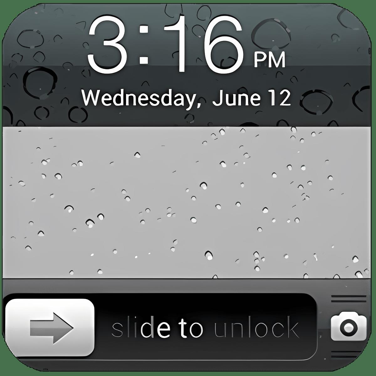 iPhone 5s Lock Screen 3.90