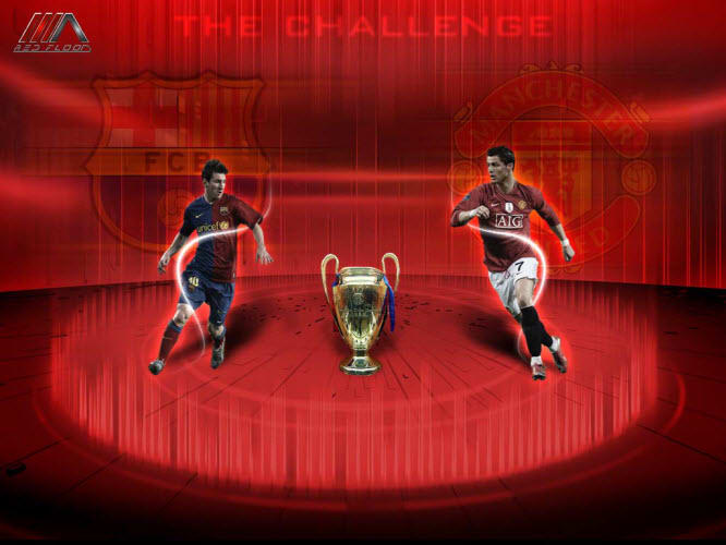 Champions League Final 2009 Wallpaper