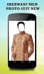 Sherwani Men Photo Suit New