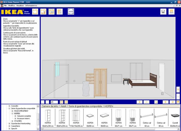 Ikea home planner download for Software per arredare casa 3d gratis