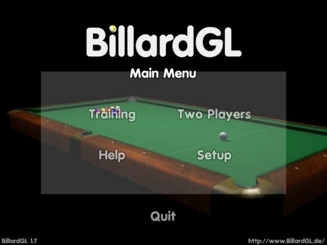 BillardGL Portable