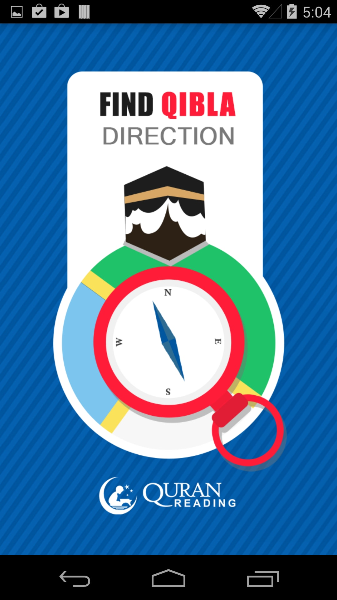 how to find qibla direction with sun