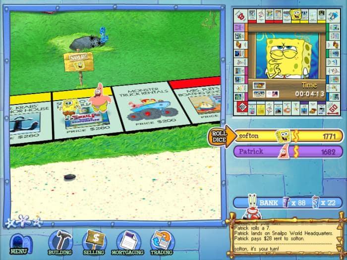Monopoly de Bob Esponja
