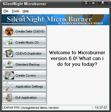 SilentNight MicroBurner