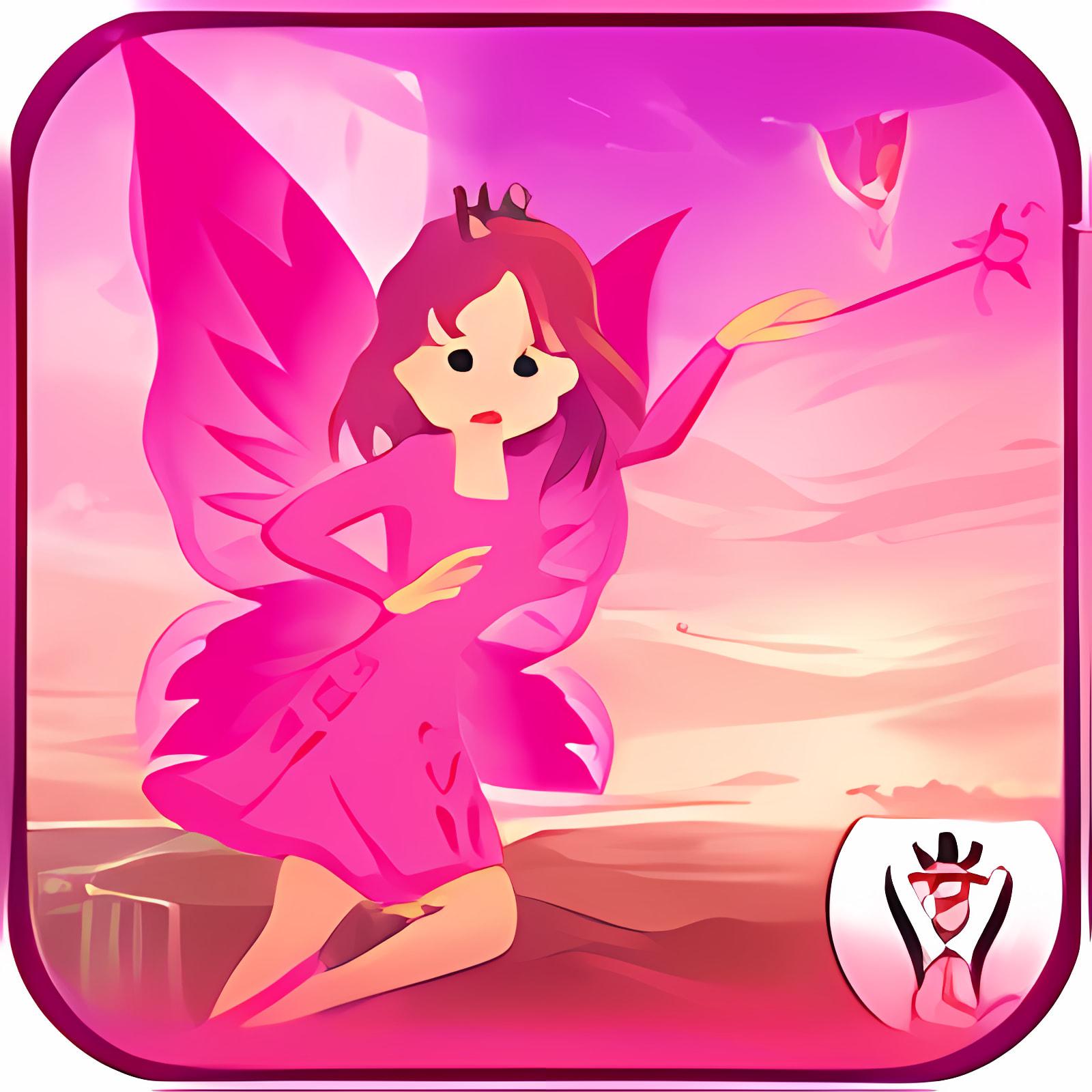 Pink Princess Alien Super Girl