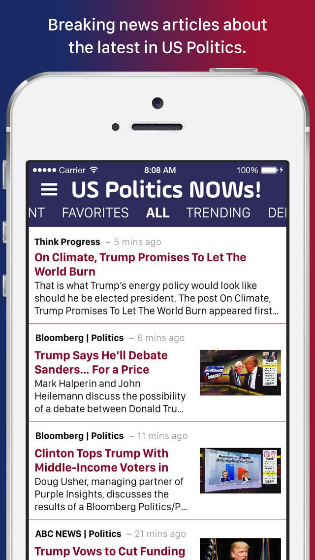 US Politics NOWs!