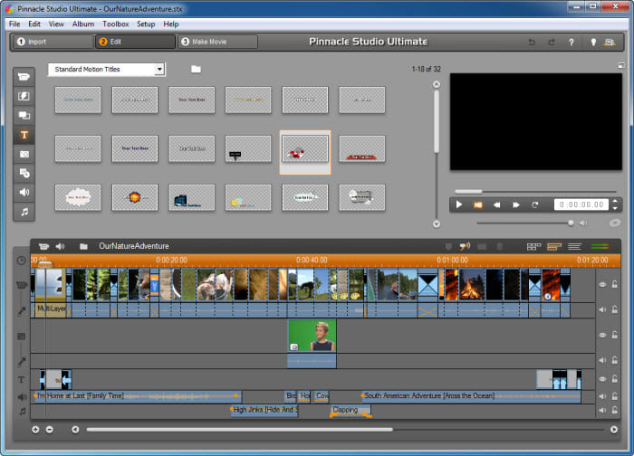 pinnacle studio 11 video editing software free download