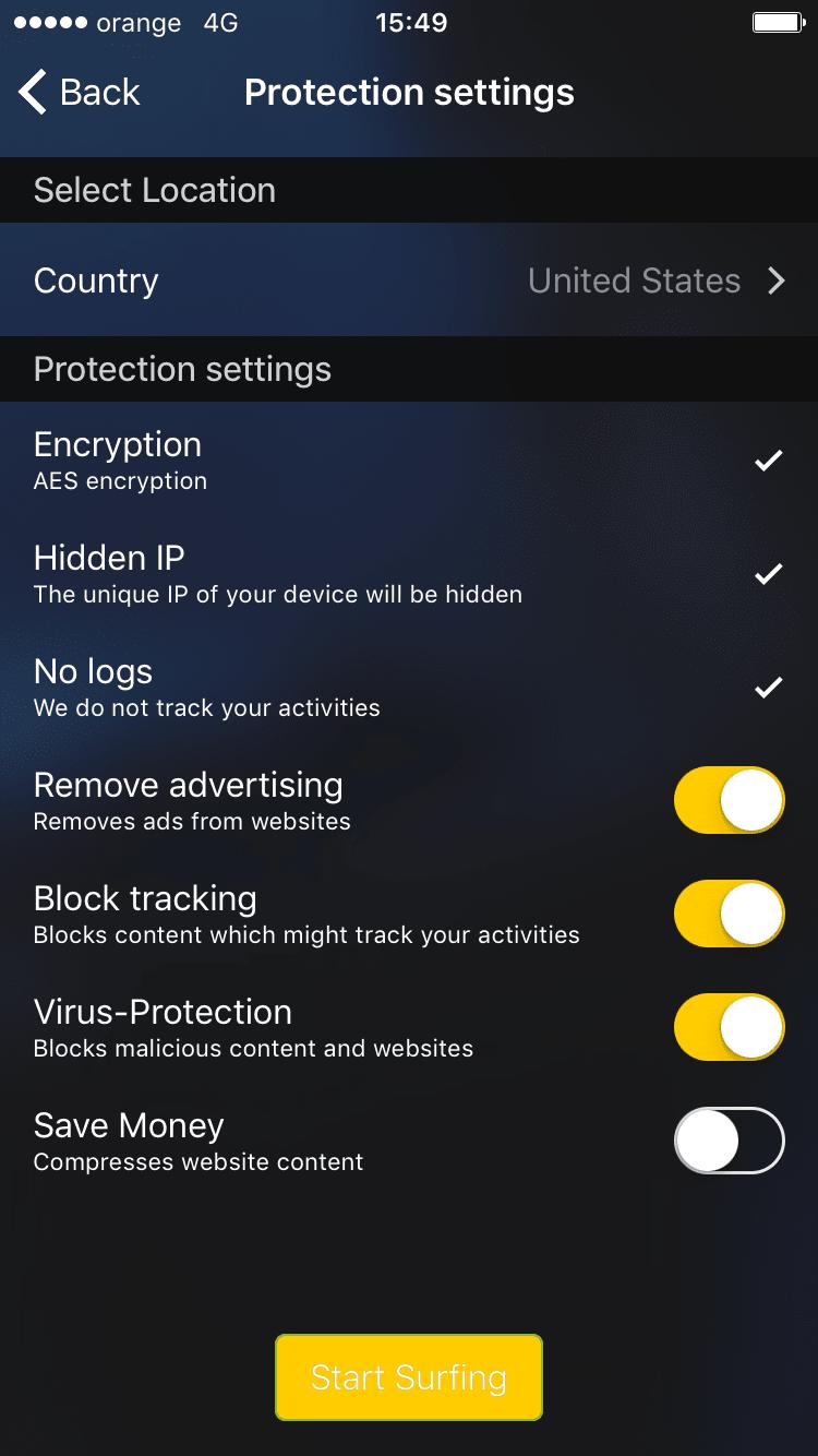 Cyberghost vpn iphone