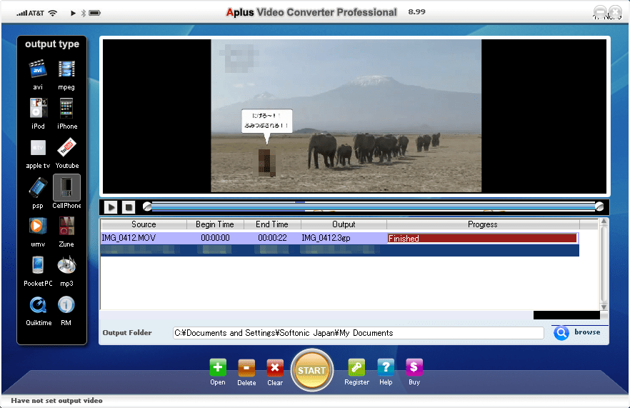 Aplus Video Converter Professional