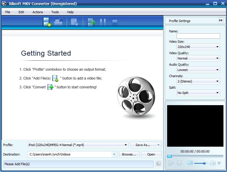 Xilisoft MKV Converter