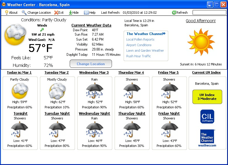 Weather Center 2.0