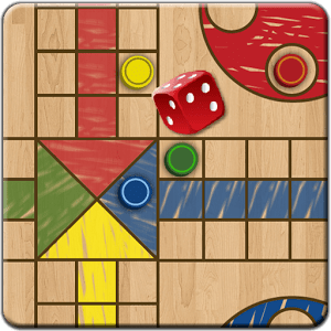 Ludo Parchis Classic Woodboard 32.0