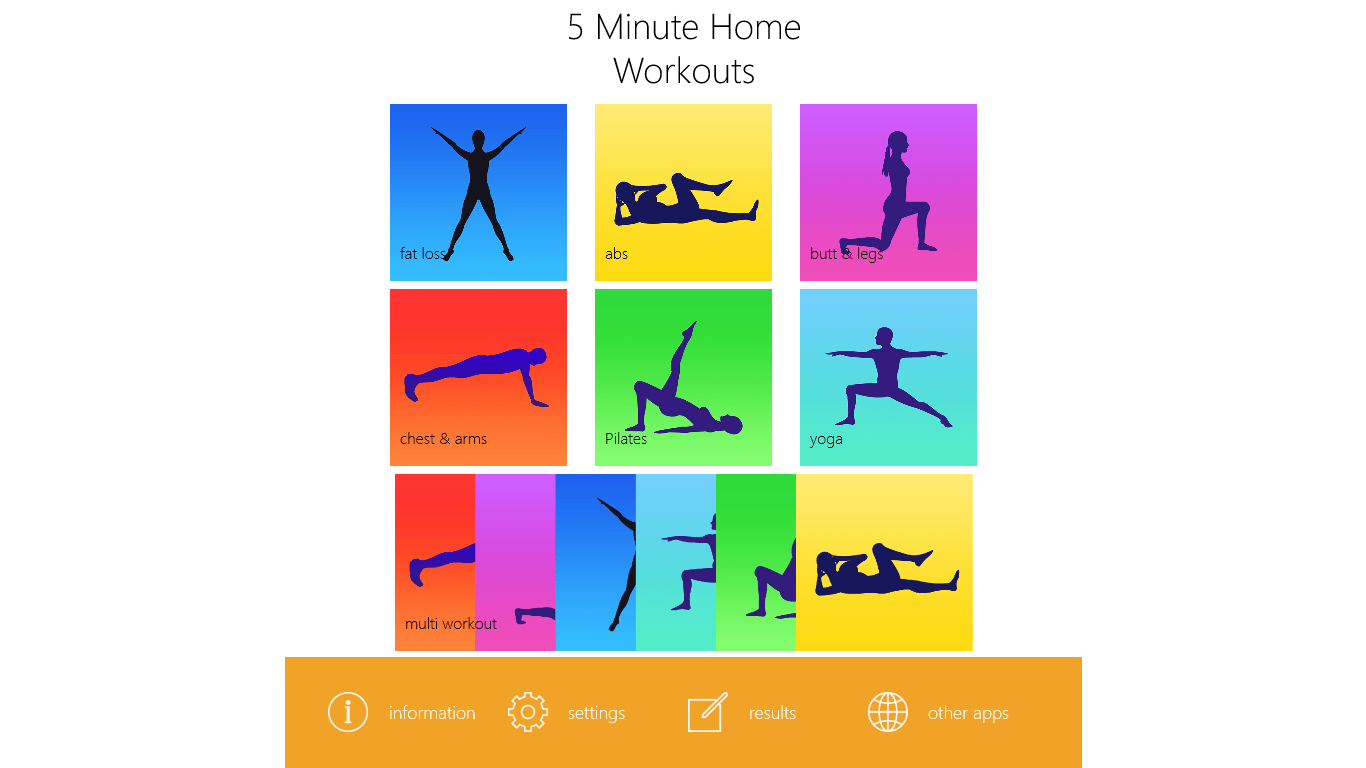 5 Minute Home Workouts