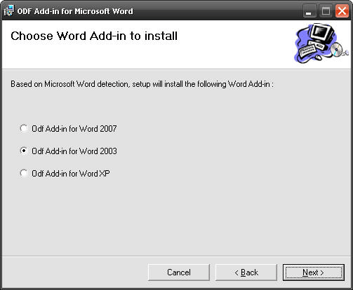 OpenXML Translator (ODF Add-in for Microsoft Word)