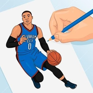 Draw Basketball 3D