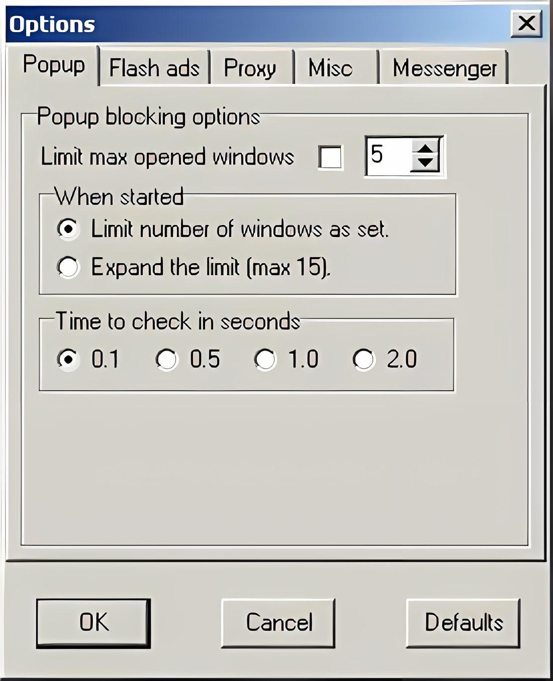 Pop up Blocker
