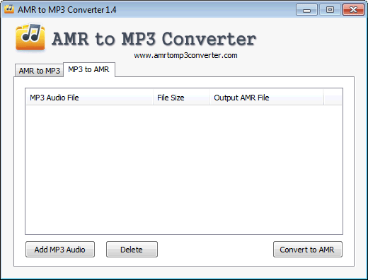 AMR to MP3 Converter