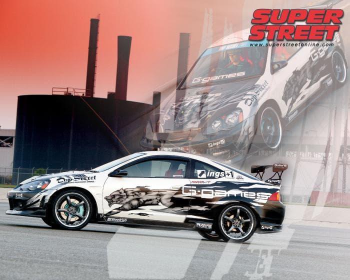 Acura RSX SuperStreet