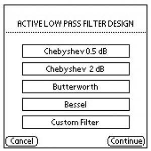 Active lowpass filter