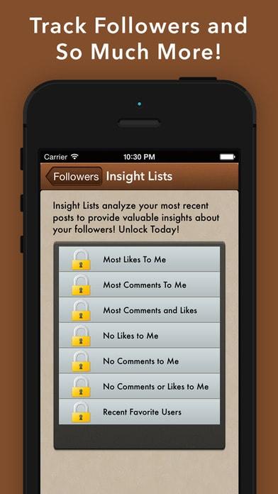 UnFollowers on Instagram - IG Followers Tracker