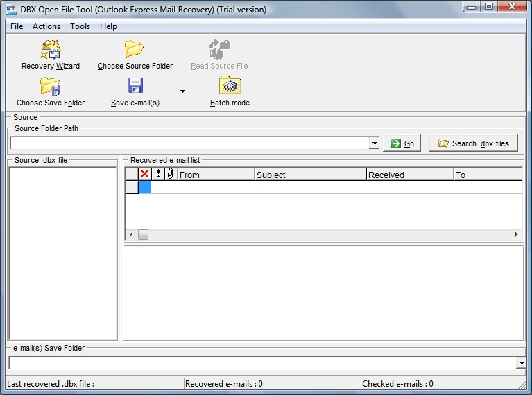 DBX Open File Tool