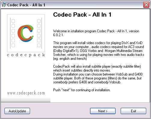 Codec Pack All in 1