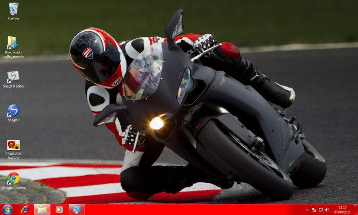 Tema Ducati per Windows 7