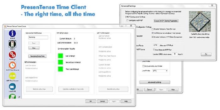 PresenTense Time Client