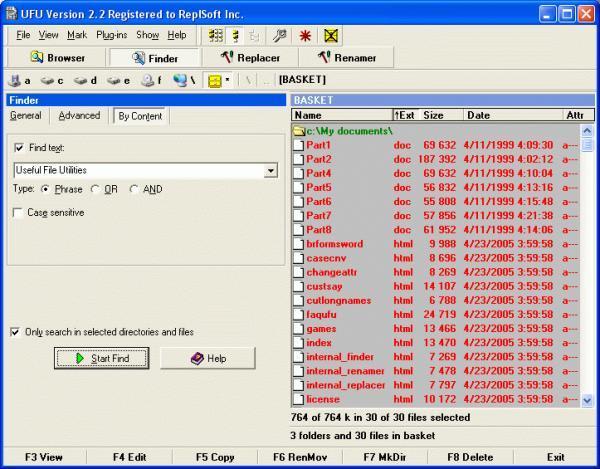 Useful File Utilities