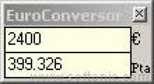 AjpdSoft EuroConversor