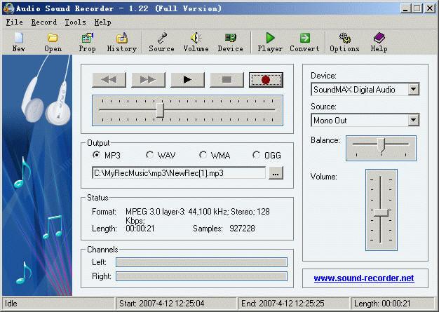 Audio Sound Recorder