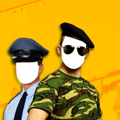 Police & Army Photo Montage