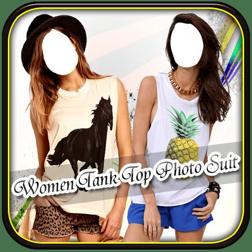 Women Tank Top Photo Suit