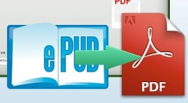 iStonsoft ePub to PDF Converter