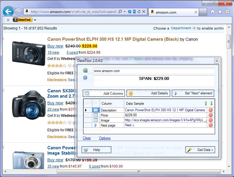 Web Data Extraction Software DataToolbar