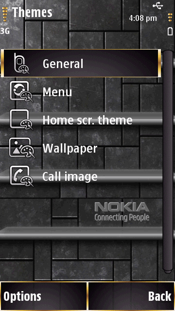 Thème Nokia 3D