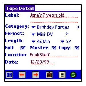 Tapes Label