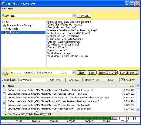 Click 'N Burn CD & DVD