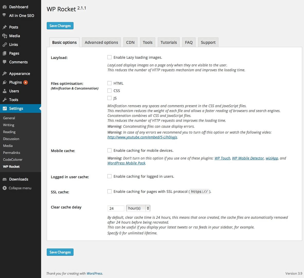 WP Rocket - Plugin for WordPress