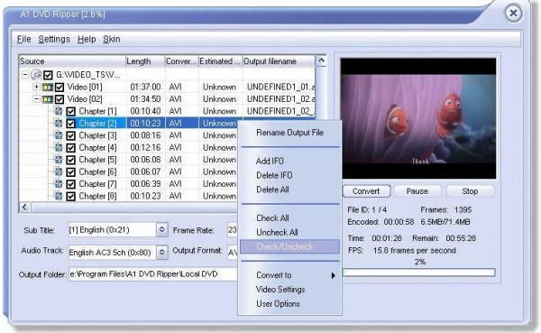 A1 DVD Ripper Standard