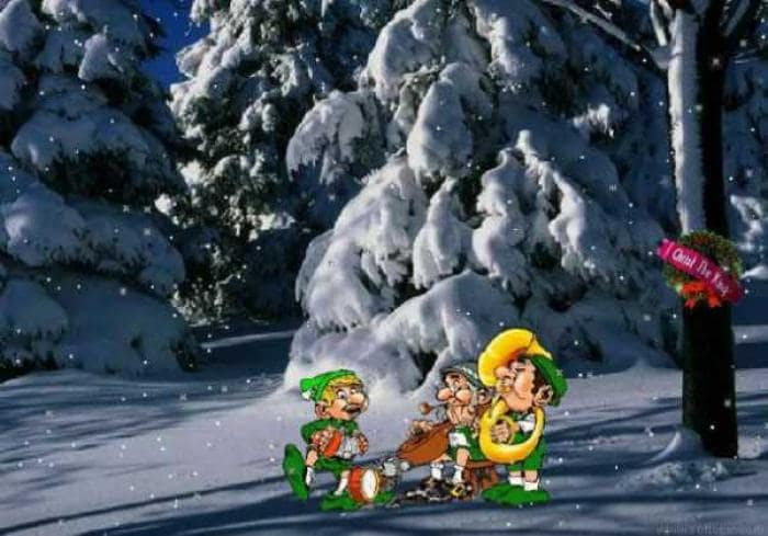 Happy Holidays 2001 Screensaver