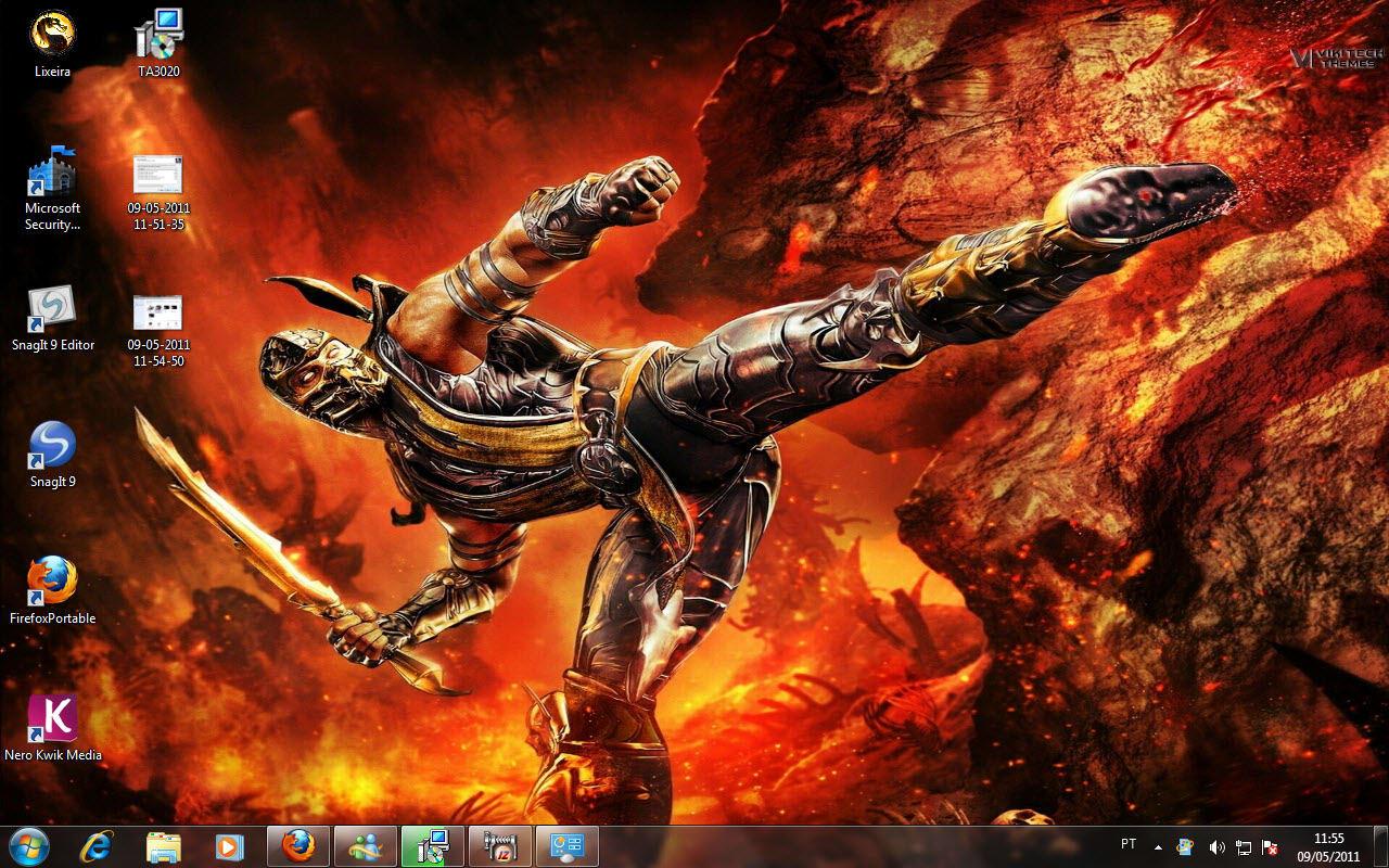 Mortal Kombat Themes