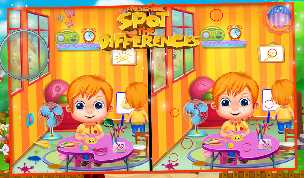 Preschool Spot The Difference