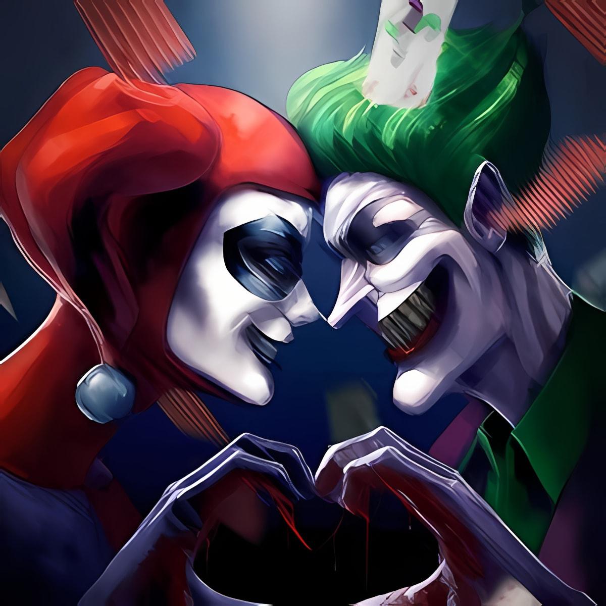 Joker vs Harley Quinn Temple Games