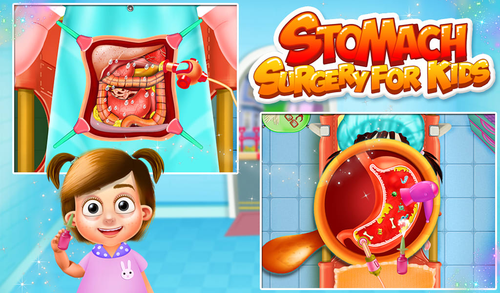 Stomach Surgery Kids Game