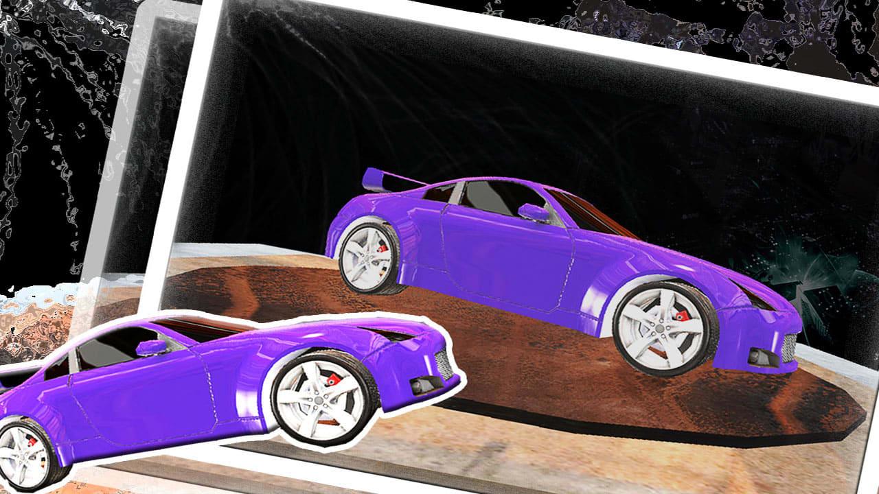 Augmented 3D Car live Paint