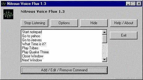 Nitrous Voice Flux