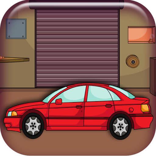 825  Car Garage Escape